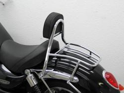 Oparcie kierowcy z bagażnikiem Triumph Rocket III 2300