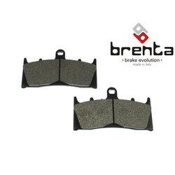 Klocki hamulcowe - standard (typ GG) - lewy przód - firmy Brenta