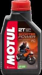 Olej silnikowy Motul Scooter Power 2T 1L Syntetyczny