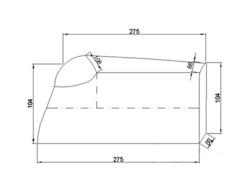 Pokrowiec przeciwdeszczowy na motocykl 500-1000cm3
