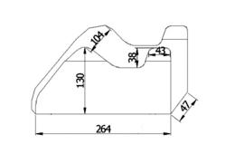 Pokrowiec przeciwdeszczowy Premium na motocykl powyżej 1000cm3