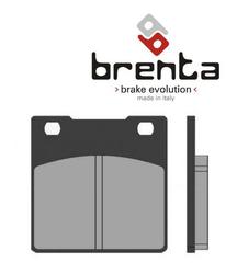 Klocki hamulcowe - spiekane (typ HH) - tył - firmy Brenta