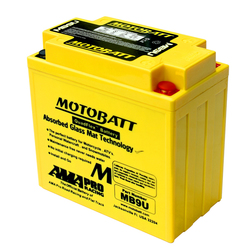 Akumulator Motobatt MB9U