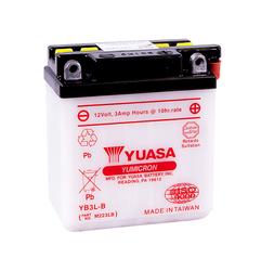 Akumulator Yuasa YB3L-B