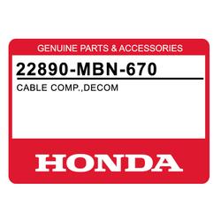Linka dekompresatora Honda XR 650 R 00-07