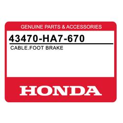 Linka hamulcowa nożna Honda TRX 350 86-88