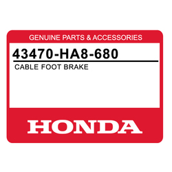 Linka hamulcowa nożna Honda TRX 250 85-87 FourTrax