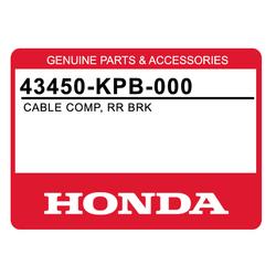 Linka hamulca ręcznego Honda NSS 250 01-04