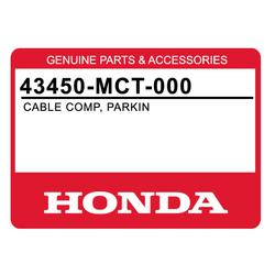 Linka hamulca ręcznego Honda FJS 400 600 Silverwing