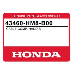 Linka hamulca ręcznego Honda TRX 250 01-08