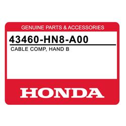 Linka hamulca ręcznego Honda TRX 650 680