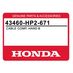 Linka hamulca ręcznego Honda TRX 90 07-16