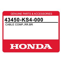 Linka hamulca tył Honda CN 250 86-98 Spazio Helix