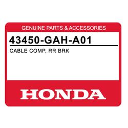 Linka hamulca tył Honda Dio SR ZX 92-96