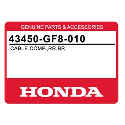 Linka hamulca tył Honda QR 50 82-03