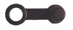 Gumowa nakładka na śrubę odpowietrzającą zacisku hamulcowego.